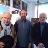 Jan met de heren Hofstee en Bentinck